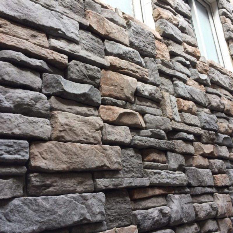 Piedra aconcagua Ebano | Deconrock Revestimiento