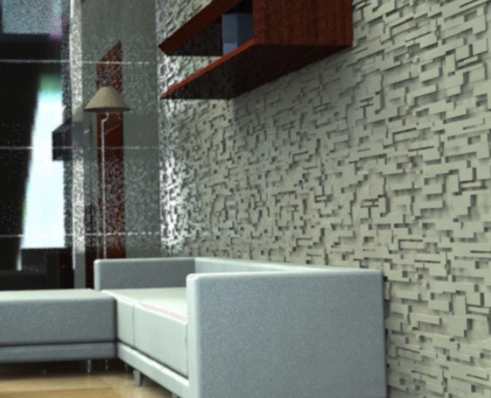 Geometric beige | Deconrock Revestimiento