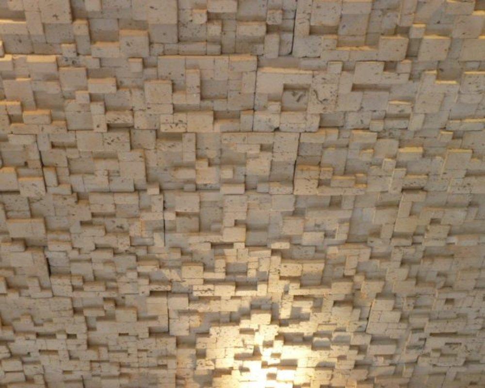 Rubix beige | Deconrock Revestimiento