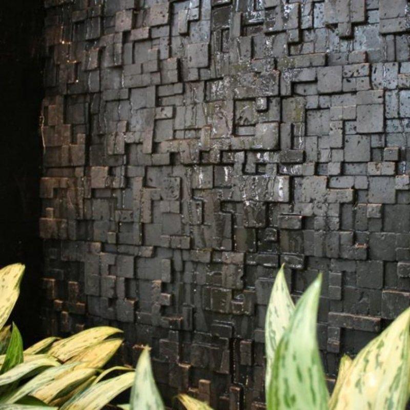 Rubix negro | Deconrock Revestimiento
