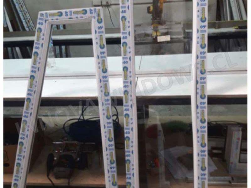 Ventanas de PVC con forma - Medio Punto
