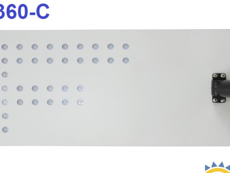 Luminaria Solar  DEC-360-C, 60 W, Certif. DS 43