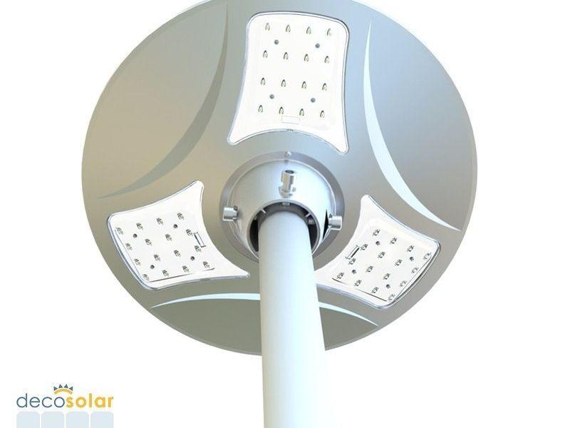 DEC-PARQUE-04 A, Luminaria Solar Ornamental