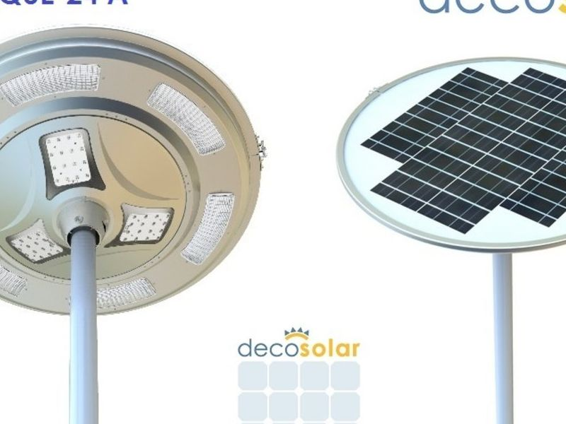 DEC-PARQUE-24 A, Luminaria Solar Ornamental