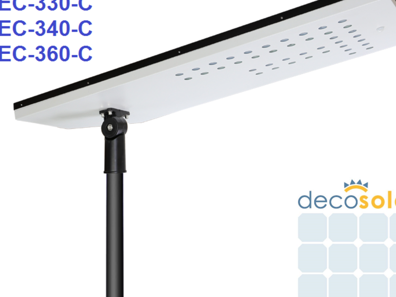 DEC-330-C, 30 W, Luminaria Solar Certif. DS 43.
