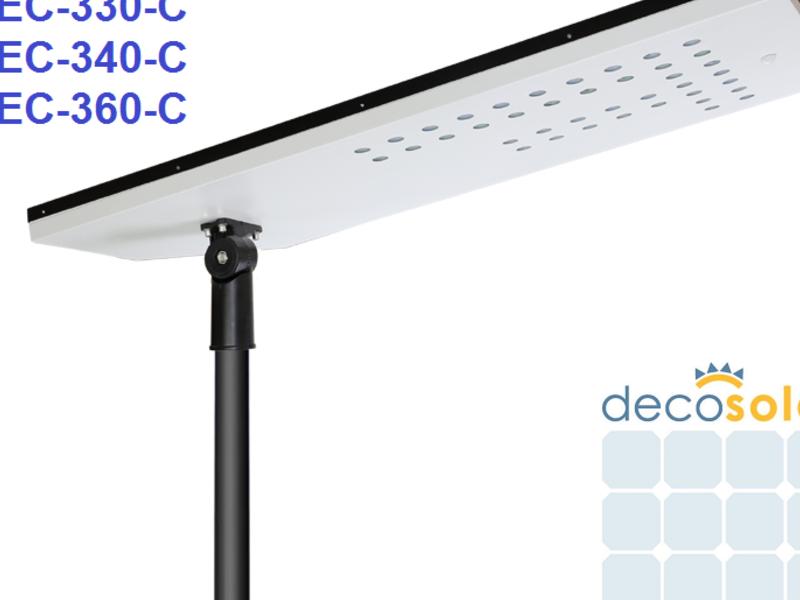 Luminaria Solar  DEC-330-C, 30 W, Certif. DS 43.