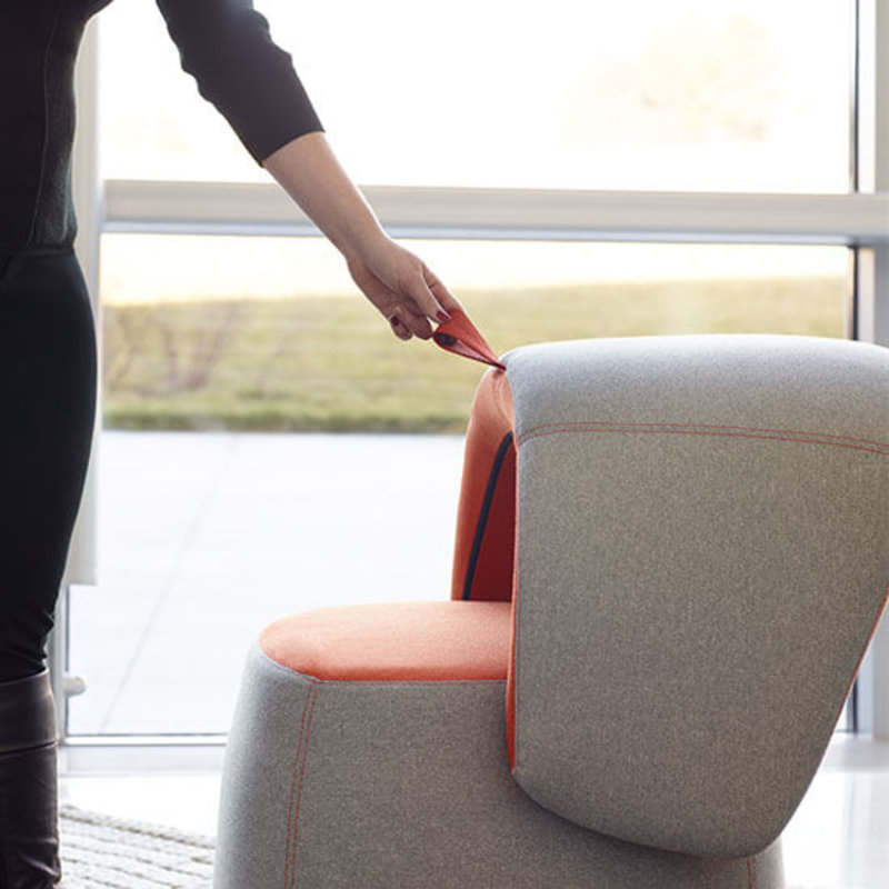 CHICK POUF seat | BRWN