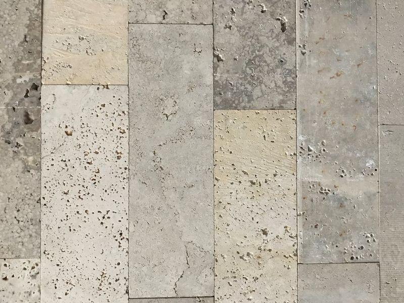 Piedra TABLILLA TRAVERTINO REC CLARO