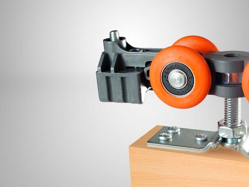 Sistema corredizo puertas madera DN 150 CF - Ducasse Industrial | CONSTRUEX