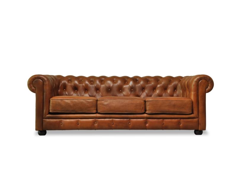Sofa Chesterfield Con Cojines