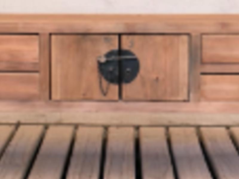 Mini cabinet natural