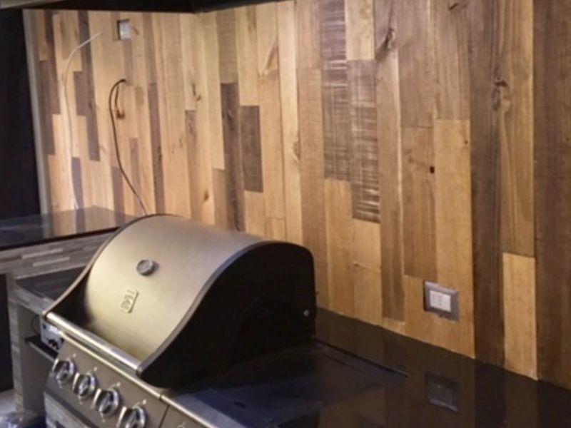 Revestimientos de madera para Quinchos