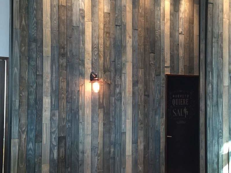 Muros de Tablas de madera
