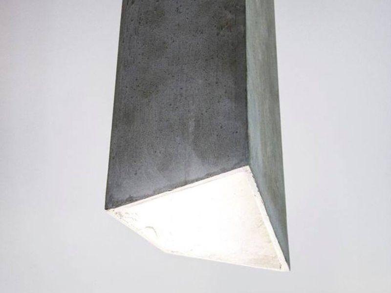 Lámparas de hormigon