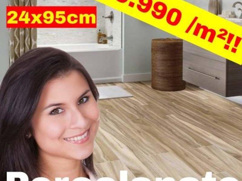Porcelanato madera 24x95 STN España