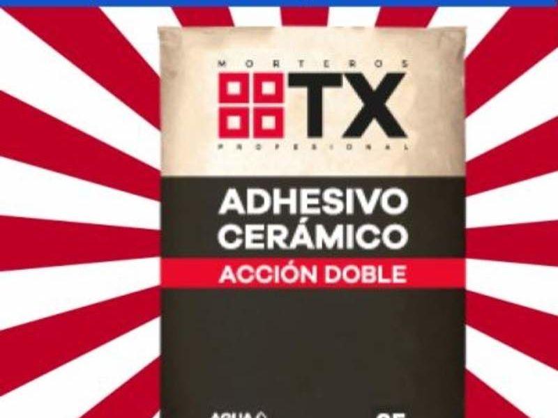Adhesivo TX DA Porcelanato equivale Bekron