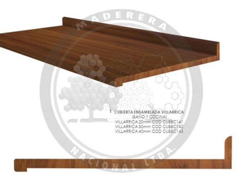 Cubierta ensamblada mobiliario Villarrica