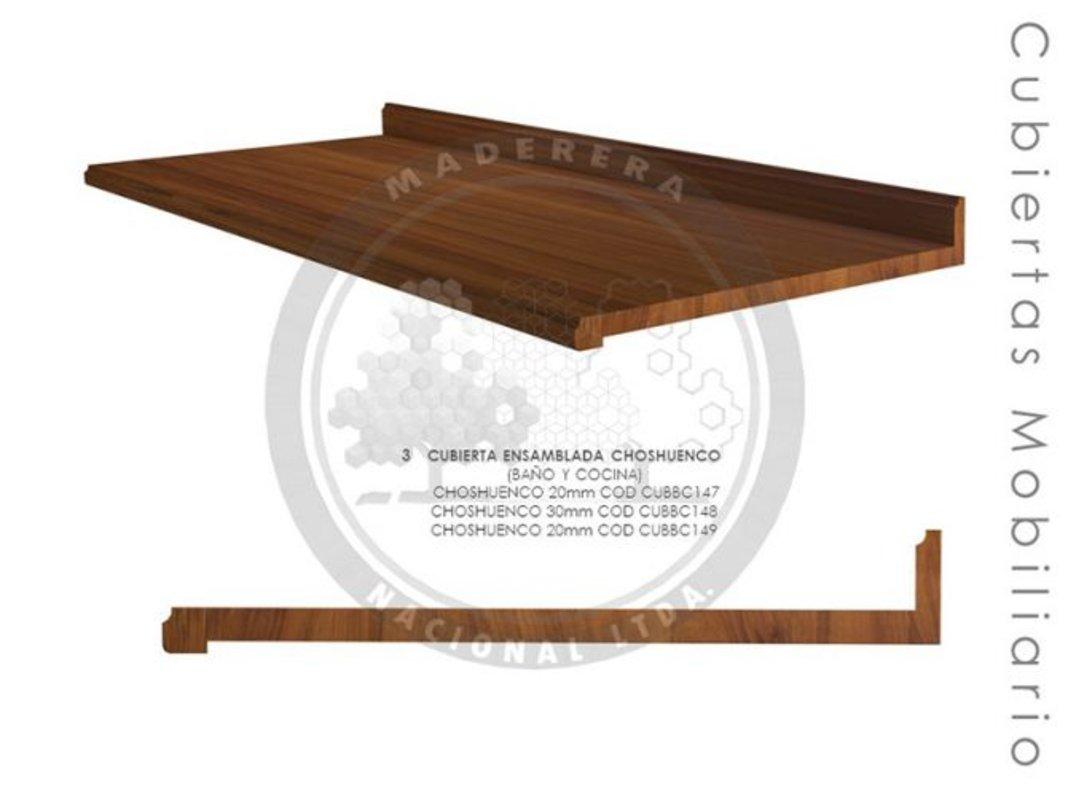 Cubierta ensamblada mobiliario Choshuenco | Maderera Nacional Limitada