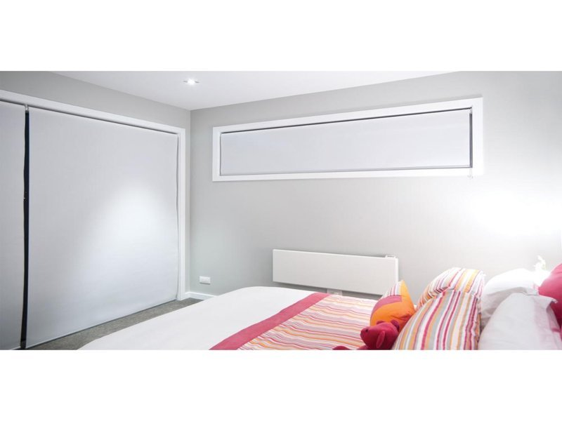 Cortina Roller Blackout 105x190 Blanca