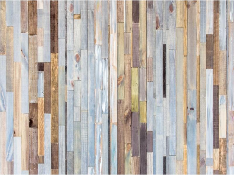 Tableros de madera y muros de tabla
